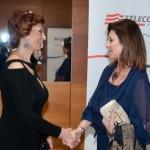 Con Sophia Loren