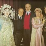 Con Franco Zeffirelli e Sean Connery