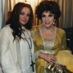 Con Gina Lollobrigida