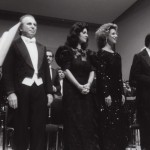 Con Riccardo Muti e Agnes Baltsa