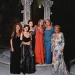 Con Katia Ricciarelli, Luciana Serra, Mariella Devia