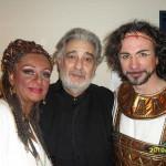 """Con Placido Domingo  Fabio Armiliato - """"Aida"""" - Tokyo - 2010"""