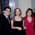 Con Juan Diego Florez e Antonella Boralevi